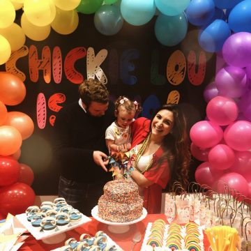 Chickie's Rainbow Themed Second Birthday