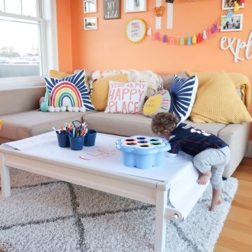 Chickie's Fun and Functional Playroom