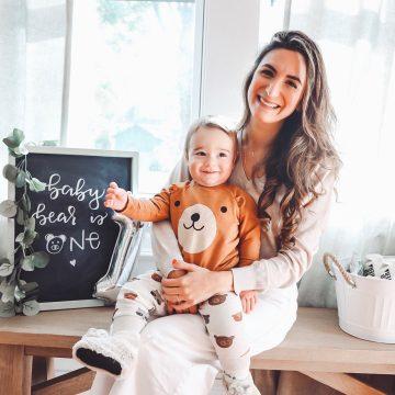 Baby Bear's DIY First Birthday